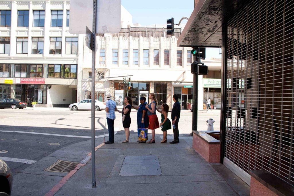 Carmen Papalia, Blind Field Shuttle - Oakland, 2011