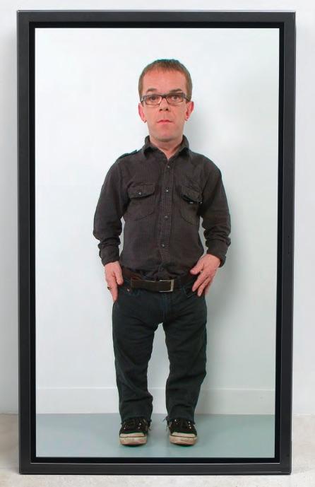 Corban Walker, TV Man, 2010, LCD monitor 65
