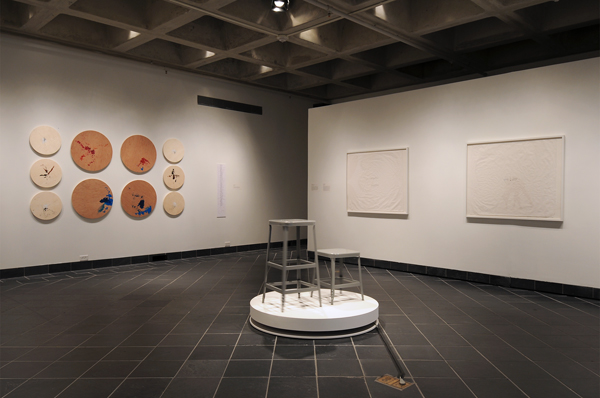 What Can A Body Do? installation shot, Cantor Fitzgerald Gallery, Haverford College, PA, 2012