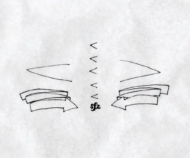 Christine Sun Kim, Etude #1, 2011, Pen on paper, 36 × 36