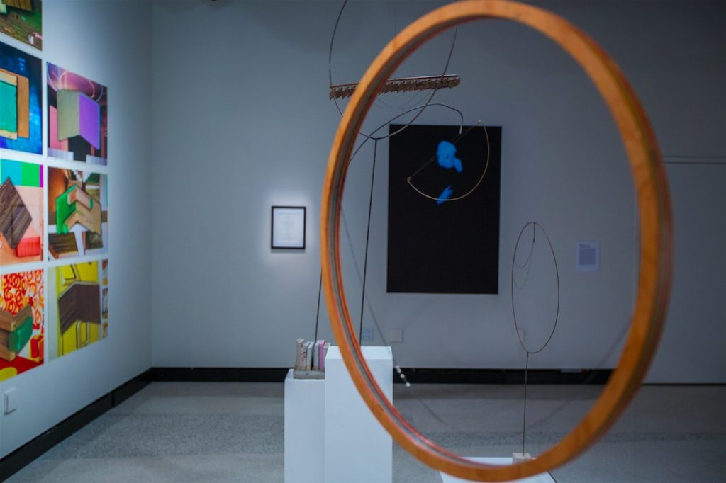 LOUD silence installation shot, gallery@calit2, University of California San Diego, 2015