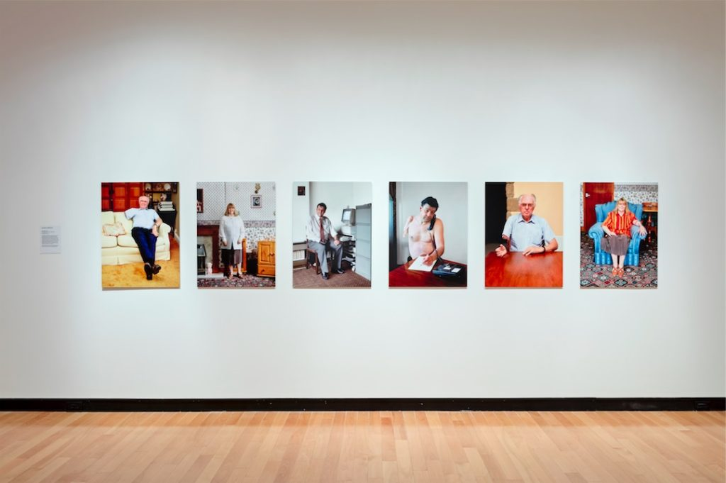 Alexa Wright, After Image, 1997, Six digitally manipulated C-type prints, 75 x 56 cm each
