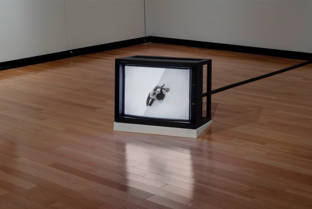 Tim Lee, Untitled (Studio Roll, 1970), 2009, Single-channel video installation, 59 seconds, Courtesy of Lisson Gallery