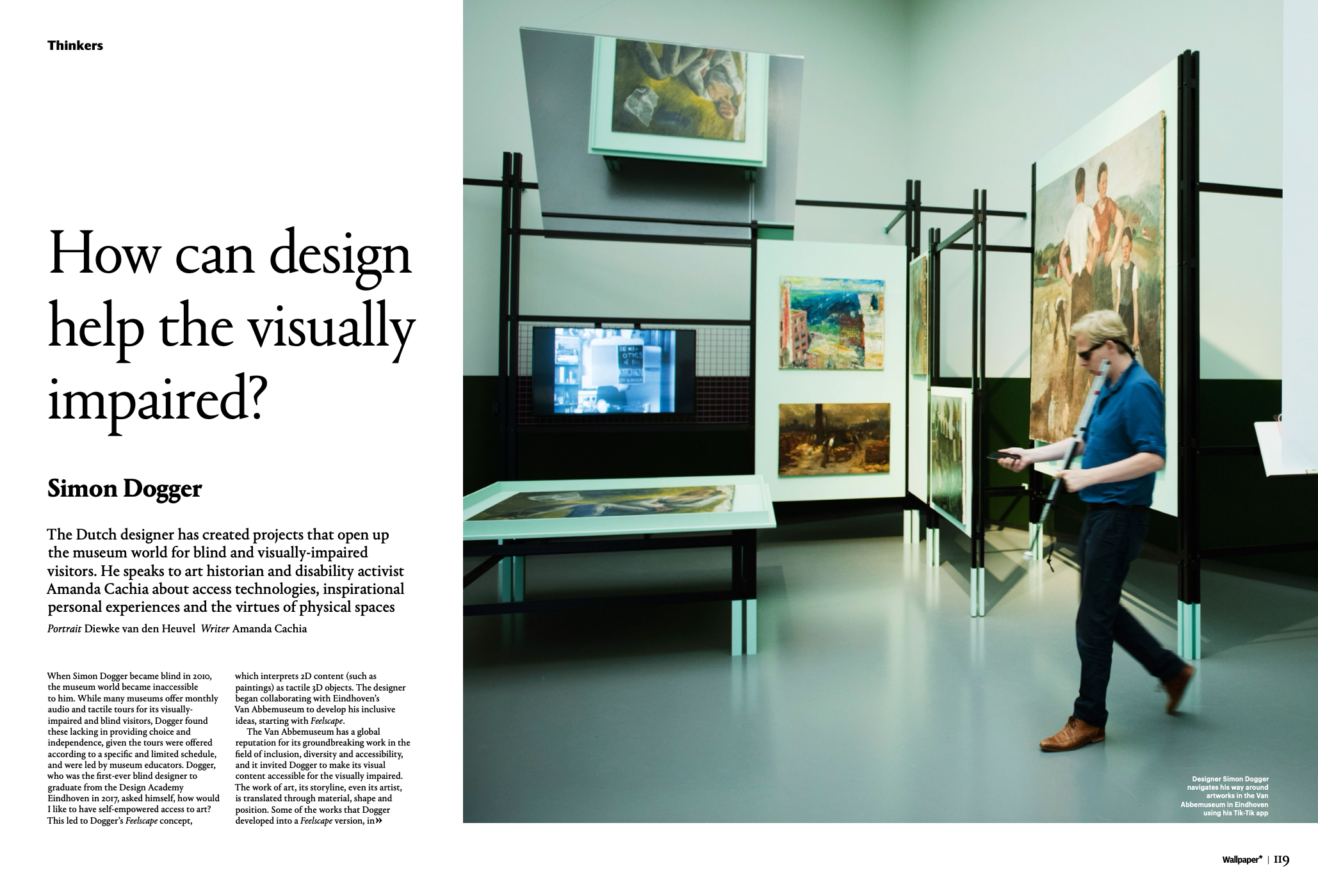 Link to How can design help the visually impaired?